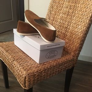 Steve Madden Arrow Perforated Slip On Loafer Shoes